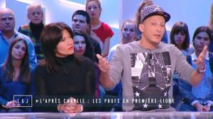 Samia Ghali dans le Grand Journal de Canal Plus - 21/01/15 - 05