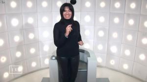 Samia Ghali dans le Grand Journal de Canal Plus - 22/01/15 - 02