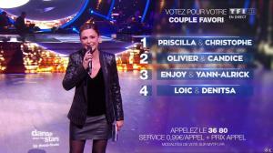 Sandrine Quétier dans Danse avec les Stars - 18/12/15 - 11
