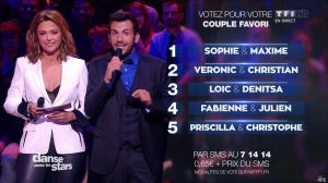 Sandrine Quétier dans Danse avec les Stars - 31/10/15 - 11