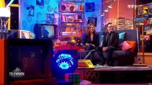 Sandrine Quétier dans la Grande Histoire de la Télévision - 08/01/16 - 04