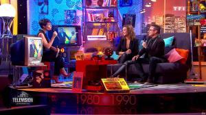 Sandrine Quétier dans la Grande Histoire de la Télévision - 08/01/16 - 06