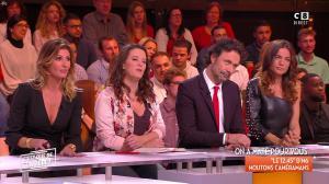 Caroline Ithurbide et FrancesÇa Antoniotti dans c'est Que de la Télé - 15/11/17 - 05