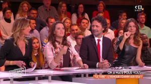 Caroline Ithurbide et FrancesÇa Antoniotti dans c'est Que de la Télé - 15/11/17 - 08