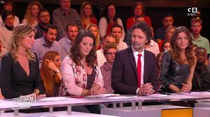 Caroline Ithurbide et FrancesÇa Antoniotti dans c'est Que de la Télé - 15/11/17 - 09