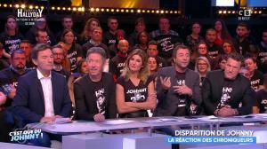 Caroline Ithurbide dans Touche pas à mon Poste - 06/12/17 - 05