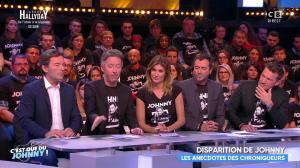 Caroline Ithurbide dans Touche pas à mon Poste - 06/12/17 - 06