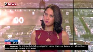 Clelie Mathias dans la Matinale de C News - 21/09/17 - 11