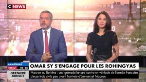 Clélie Mathias dans la Matinale de C News - 28/11/17 - 01