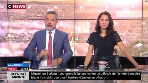 Clélie Mathias dans la Matinale de C News - 28/11/17 - 02