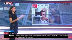Clelie Mathias dans la Matinale de C News - 28/11/17 - 09