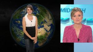 Fanny Agostini à la Météo de BFM TV - 01/02/17 - 01
