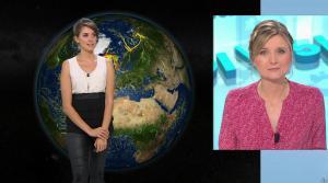 Fanny Agostini à la Météo de BFM TV - 01/02/17 - 02