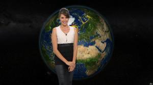 Fanny Agostini à la Météo de BFM TV - 01/02/17 - 03
