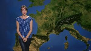 Fanny Agostini à la Météo de BFM TV - 01/05/17 - 01