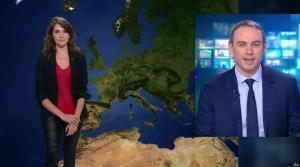 Fanny Agostini à la Météo de BFM TV - 03/02/17 - 01