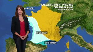 Fanny Agostini à la Météo de BFM TV - 03/02/17 - 03