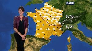 Fanny Agostini à la Météo de BFM TV - 05/05/17 - 02