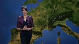 Fanny Agostini à la Météo de BFM TV - 05/05/17 - 03