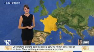 Fanny Agostini à la Météo de BFM TV - 06/02/17 - 02