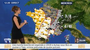 Fanny Agostini à la Météo de BFM TV - 06/02/17 - 03