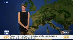 Fanny Agostini à la Météo de BFM TV - 06/02/17 - 05