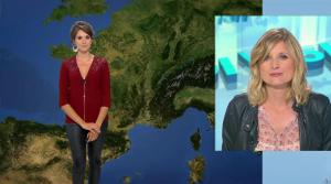 Fanny Agostini à la Météo de BFM TV - 06/06/17 - 01