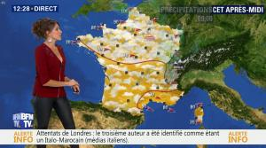 Fanny Agostini à la Météo de BFM TV - 06/06/17 - 02