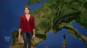Fanny Agostini à la Météo de BFM TV - 06/06/17 - 06