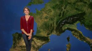 Fanny Agostini à la Météo de BFM TV - 06/06/17 - 12