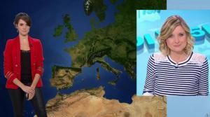 Fanny Agostini à la Météo de BFM TV - 07/03/17 - 01