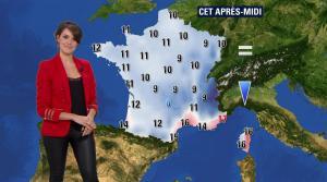 Fanny Agostini à la Météo de BFM TV - 07/03/17 - 03