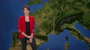 Fanny Agostini à la Météo de BFM TV - 07/03/17 - 04
