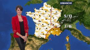 Fanny Agostini à la Météo de BFM TV - 07/03/17 - 05