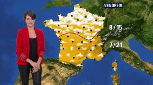 Fanny Agostini à la Météo de BFM TV - 07/03/17 - 07