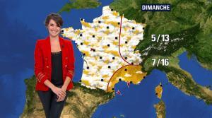 Fanny Agostini à la Météo de BFM TV - 07/03/17 - 10