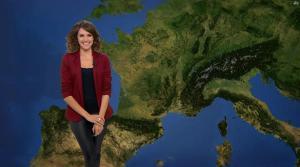 Fanny Agostini à la Météo de BFM TV - 09/05/17 - 04