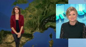 Fanny Agostini à la Météo de BFM TV - 09/05/17 - 08
