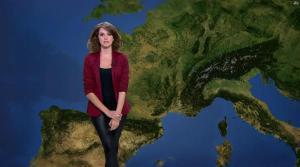 Fanny Agostini à la Météo de BFM TV - 09/05/17 - 11