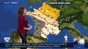 Fanny Agostini à la Météo de BFM TV - 09/05/17 - 13
