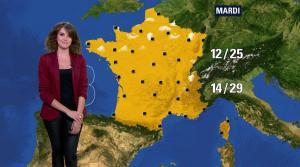 Fanny Agostini à la Météo de BFM TV - 09/05/17 - 14
