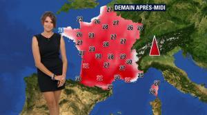 Fanny Agostini à la Météo de BFM TV - 09/06/17 - 04