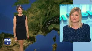 Fanny Agostini à la Météo de BFM TV - 09/06/17 - 05
