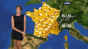 Fanny Agostini à la Météo de BFM TV - 09/06/17 - 07