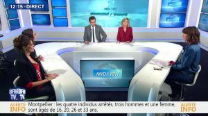 Fanny Agostini à la Météo de BFM TV - 10/02/17 - 01