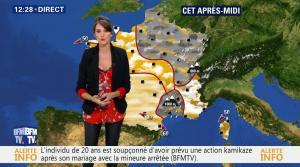 Fanny Agostini à la Météo de BFM TV - 10/02/17 - 04