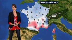 Fanny Agostini à la Météo de BFM TV - 10/02/17 - 05