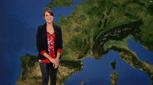 Fanny Agostini à la Météo de BFM TV - 10/02/17 - 06