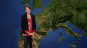 Fanny Agostini à la Météo de BFM TV - 10/02/17 - 11