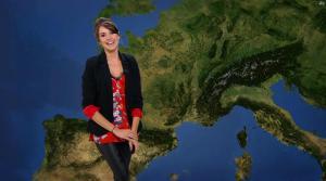 Fanny Agostini à la Météo de BFM TV - 10/02/17 - 14